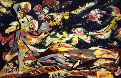 spotlight essay jackson pollock kemper art museum jackson pollock sleeping effort 1953