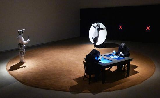 Installation view of Balázs Kicsiny: Killing Time, 2012. Photo by the artist.