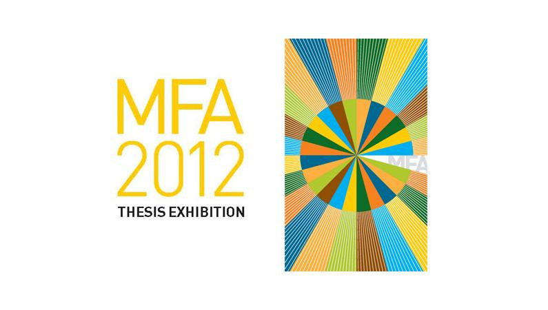 risd graduate thesis exhibition 2012