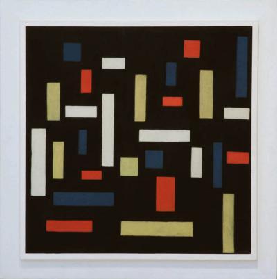 Theo van Doesburg, Compositie VII: de drie Gratiën, 1917