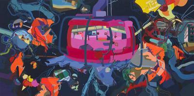 Franz Ackermann, Untitled (yet), 2008–9.
