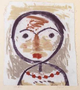 Paul Klee, Frägt Sich, 1934.