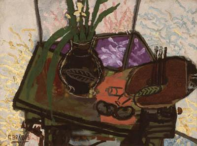 Georges Braque, Still Life with Palette, 1943.