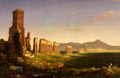 Thomas Cole, Aqueduct near Rome, 1832.