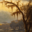 Joseph Rusling Meeker, Landscape (Bayou), 1879.